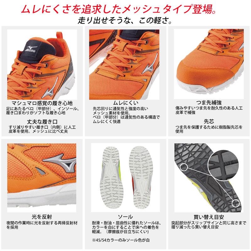 ミズノ(MIZUNO) F1GA1803 オールマイティVS 安全靴