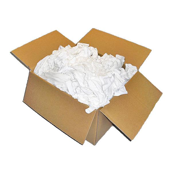 白メリヤスウエス(リサイクル生地) 10kg/箱