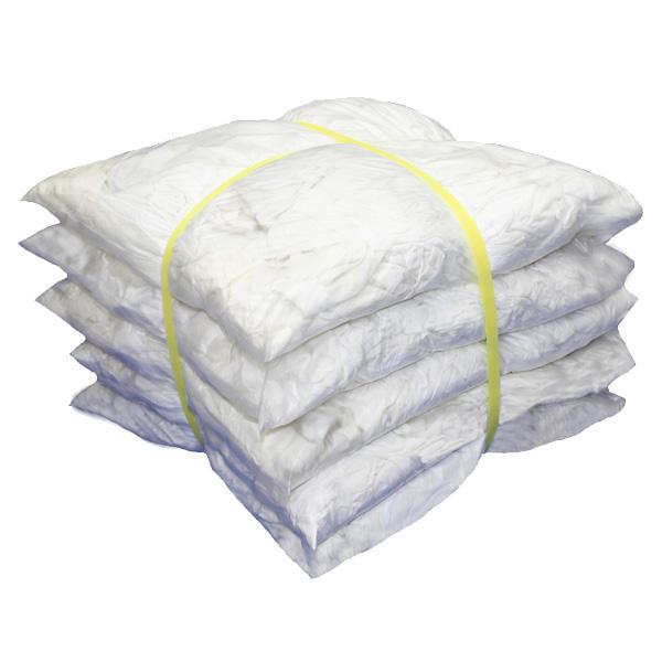 白メリヤスウエス(リサイクル生地) 10kg梱包 [簡易包装]