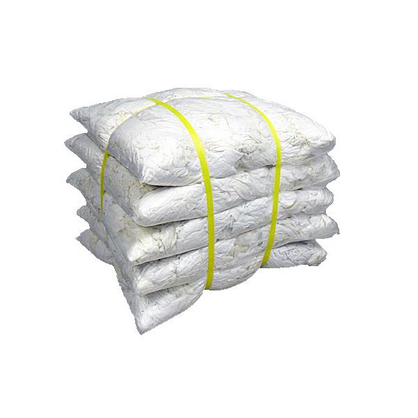 白メリヤスウエス(リサイクル生地) 20kg梱包/4kg×5袋