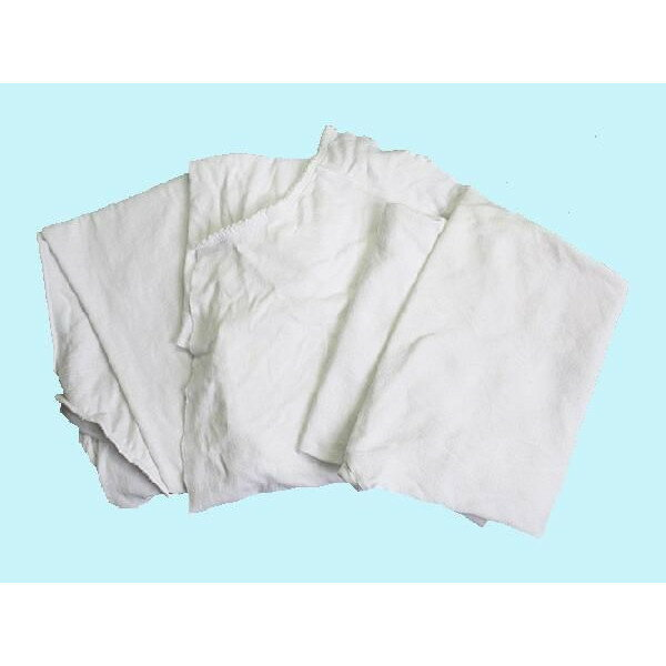 白メリヤスウエス(リサイクル生地) 40kg梱包(4kg×5袋×2梱包)