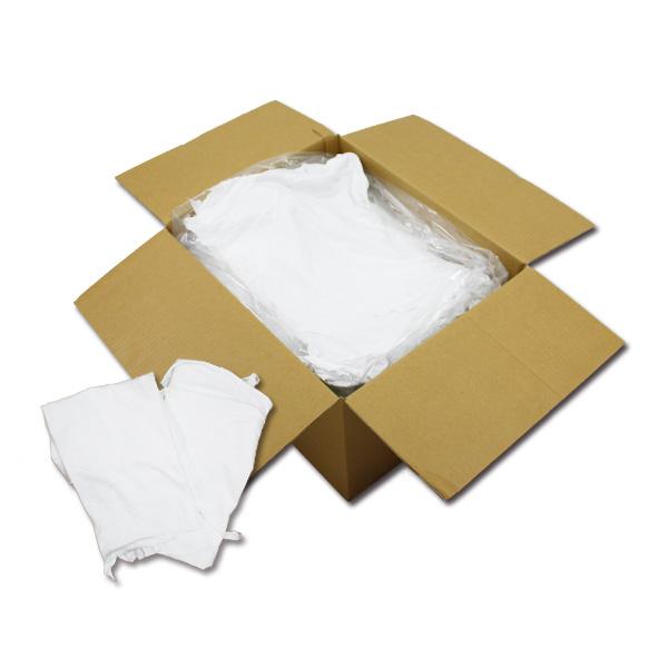 白メリヤスウエス(リサイクル生地)(洗い済み) 10kg/箱