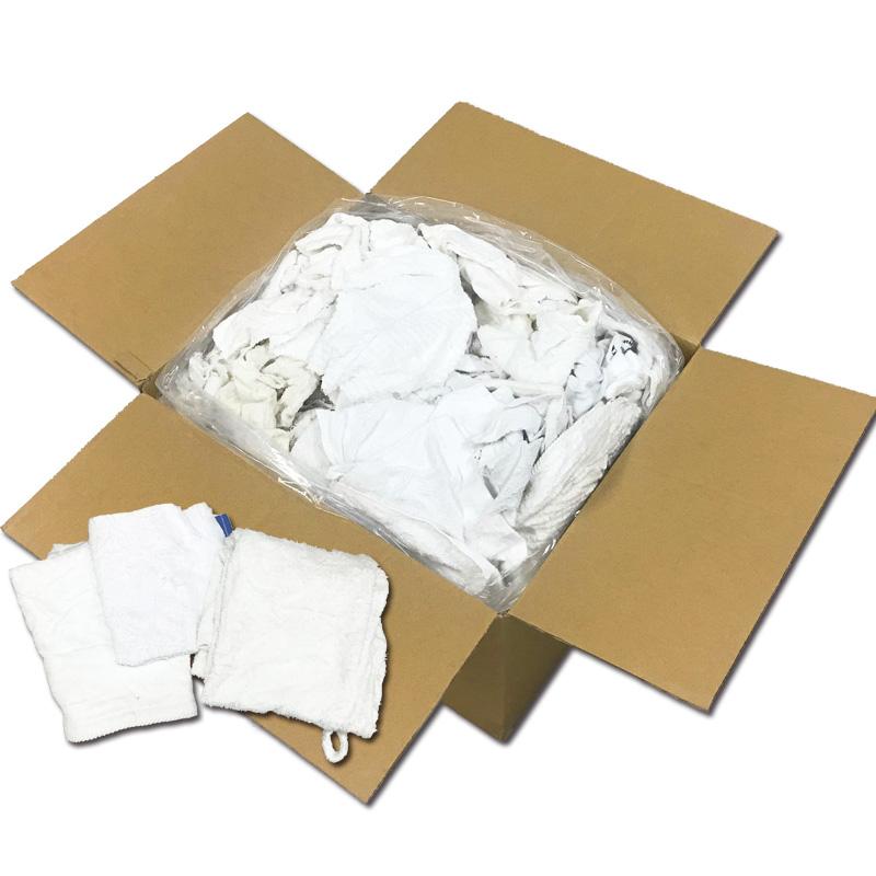 白メリヤスウエスエコノミープラス(リサイクル生地) 10kg/箱