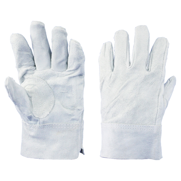 牛床革手袋 内縫:8502 12双/袋 作業用手袋 溶接