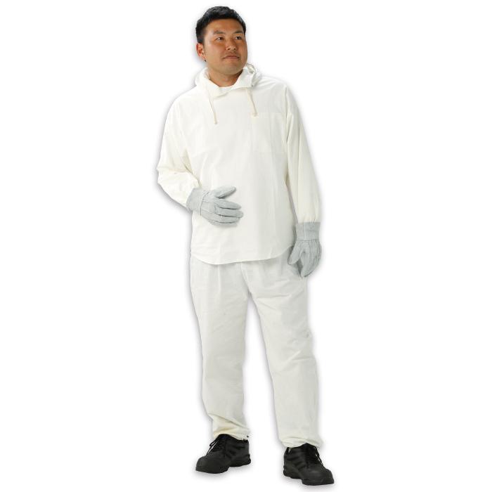 HK-502 塗装服 左胸ポケット付 フリーサイズ 上下セット 1着