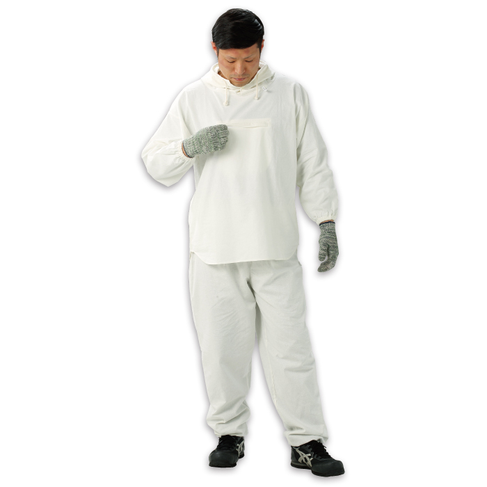 HK-506 塗装服 胸中央ポケット付 Oサイズ 30着/箱
