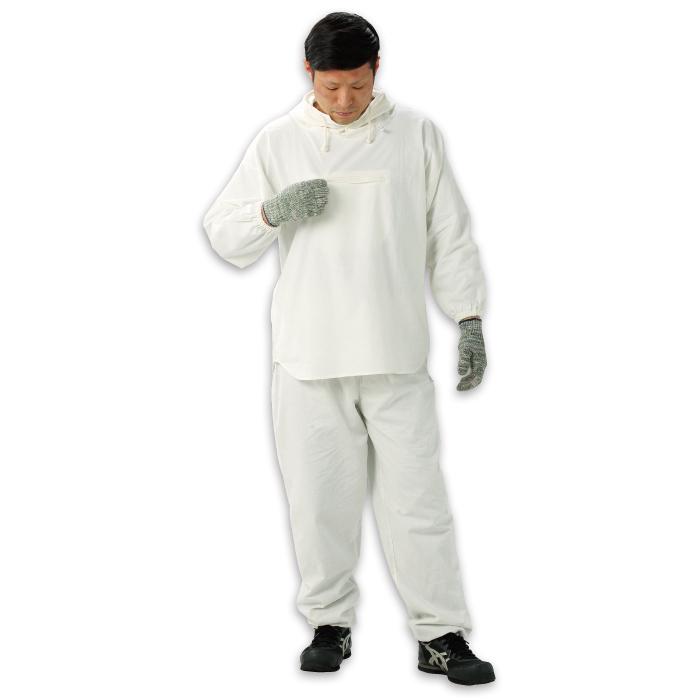 HK-506 塗装服 胸中央ポケット付 フリーサイズ 30着/箱