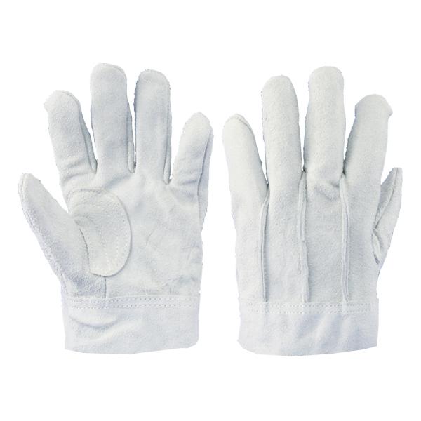 牛床革手袋 背縫:8702 1双 単品 作業用手袋 溶接