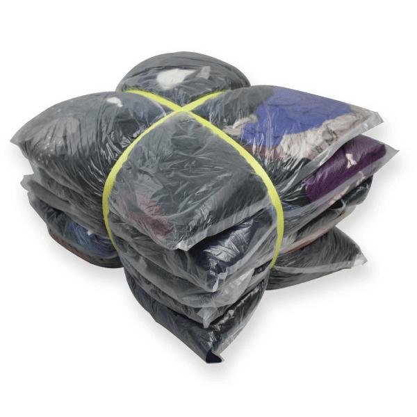 濃色メリヤスウエス(リサイクル生地) 10kg梱包 2kg×5袋