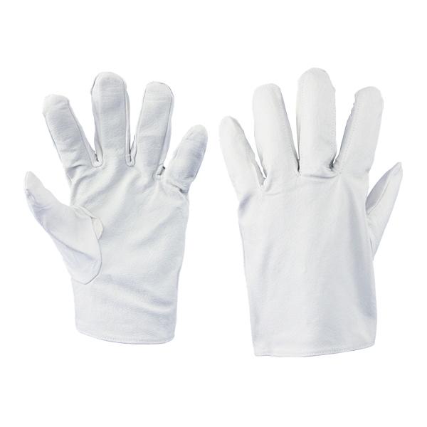 豚表革手袋 クレスト 本革 2102 (10双セット) 作業用手袋