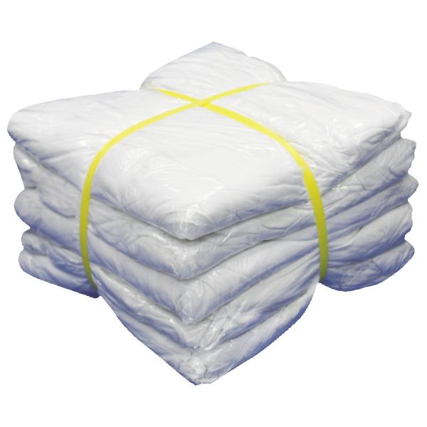 白メリヤスウエス(新品生地)縫目無 10kg[2kg×5袋]