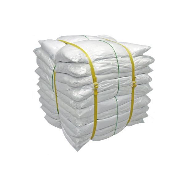 白メリヤスウエス(新品生地)縫目無 20kg梱包/2kg×10袋
