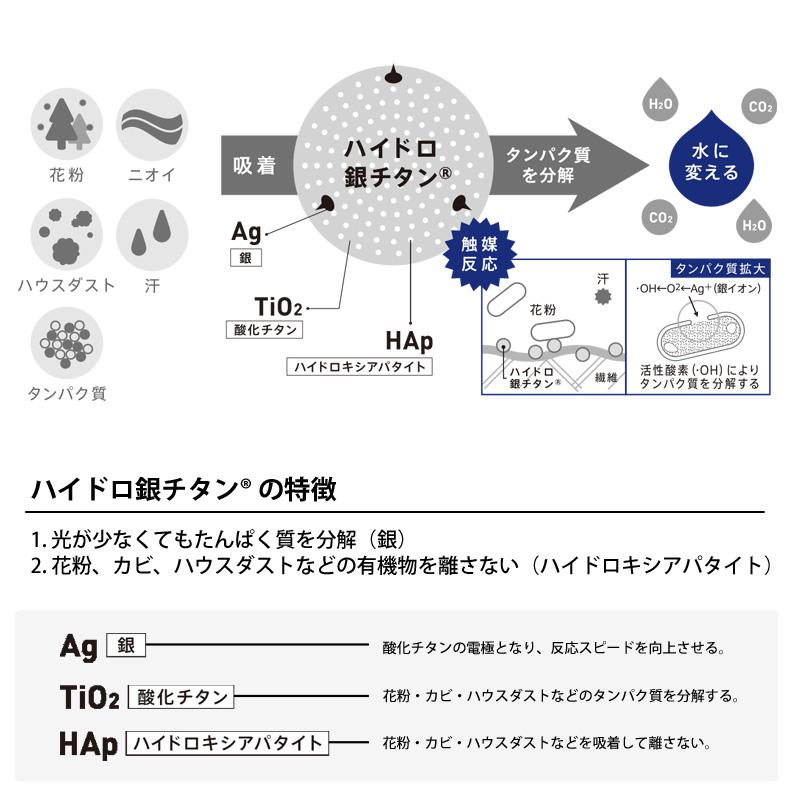 ミズノ(MIZUNO) C2JY8103 ハイドロ銀チタン ハンドタオル