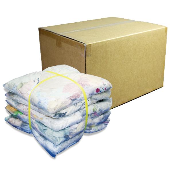 淡色メリヤスウエス(リサイクル生地) 10kg/箱[2kg×5袋]