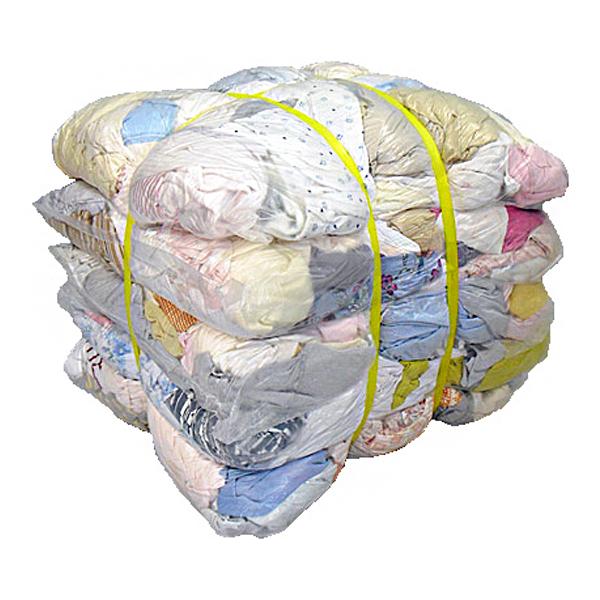 淡色メリヤスウエス(リサイクル生地) 20kg梱包/4kg×5袋