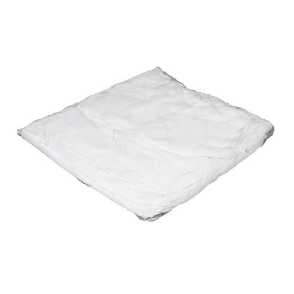 定型白メリヤスウエス(新品生地)縫目無 1kgパック