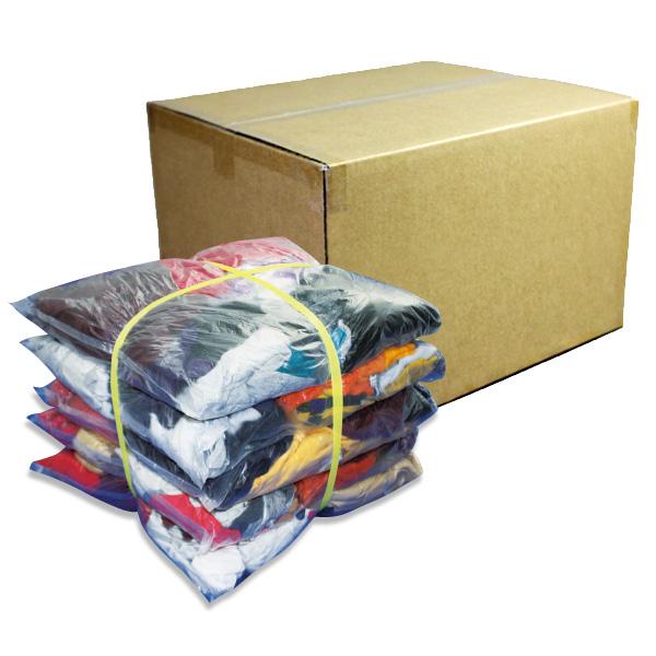 濃色厚メリヤスウエス(リサイクル生地) 10kg/箱