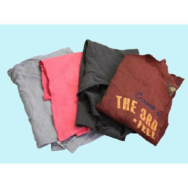 濃色厚メリヤスウエス(リサイクル生地) 20kg梱包/4kg×5袋