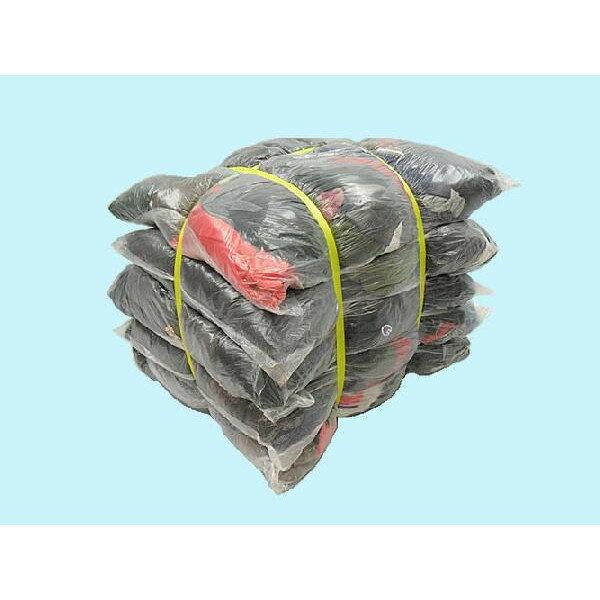 濃色厚メリヤスウエス(リサイクル生地) 40kg梱包(4kg×5袋×2梱包)
