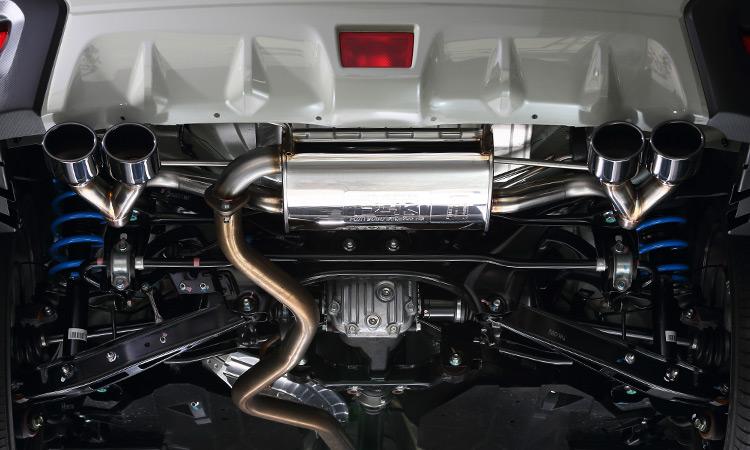 スポーツマフラー GP XV