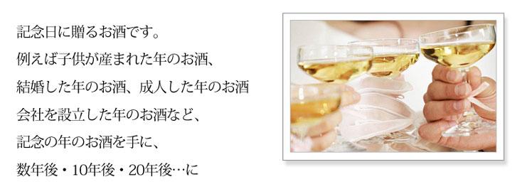 記年美酒シリーズ 1995年 200ml