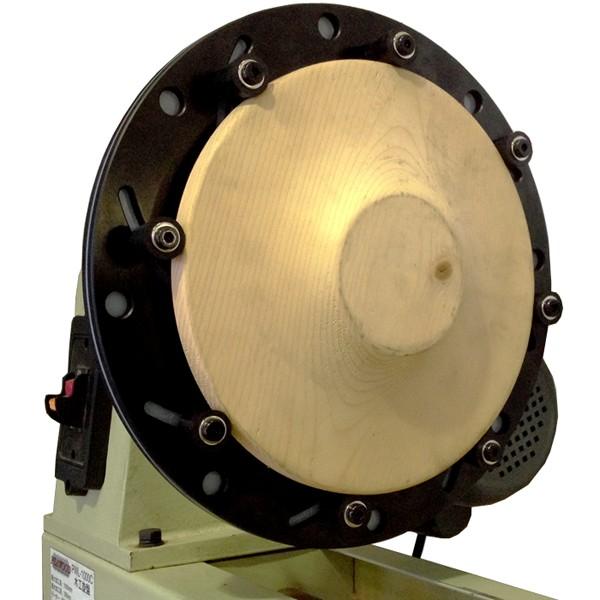 ピーウッド 木工旋盤 PWL-450VD ロングワーススタイルチャックセット
