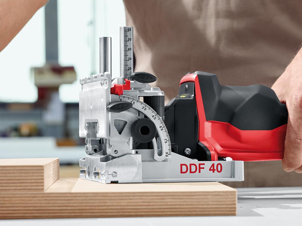 マーフェル DDF40 2軸ダボ穴加工ドリル+ボーリングテンプレートセット