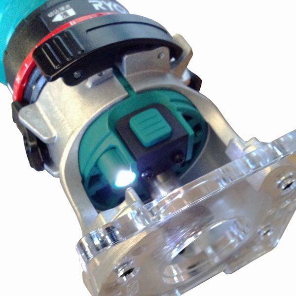 リョービ 電子トリマ TRE-60V+集じん機セット