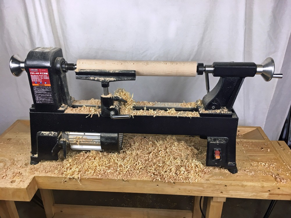 ピーウッド 木工旋盤 PWL-455 フルセット