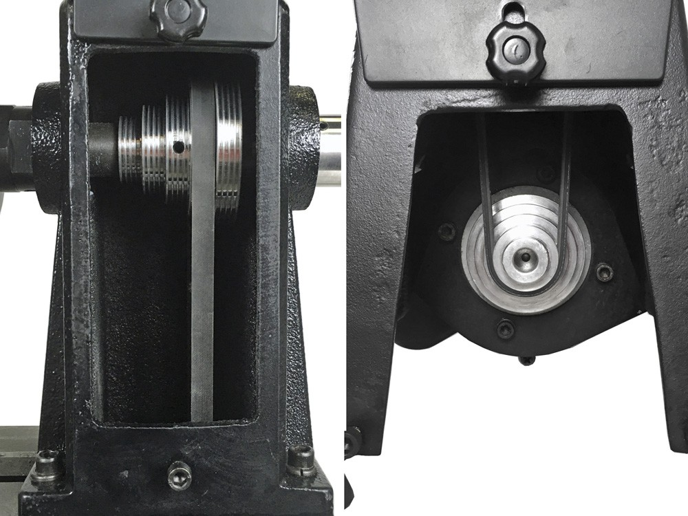 ピーウッド 木工旋盤 PWL-455 ロングワーススタイルチャックセット