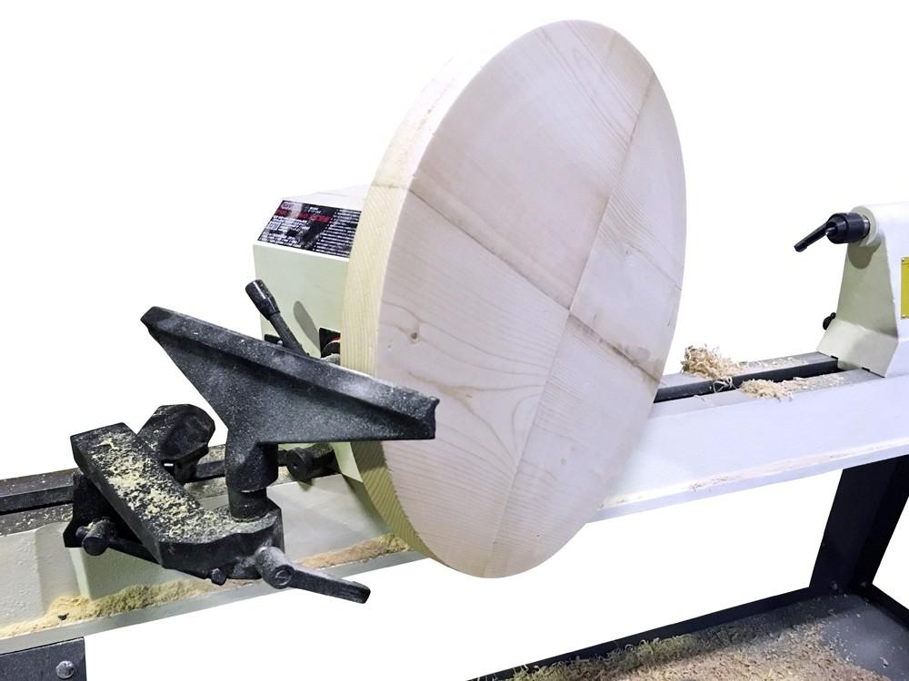ピーウッド 木工旋盤 PWL-1100VD フルセット