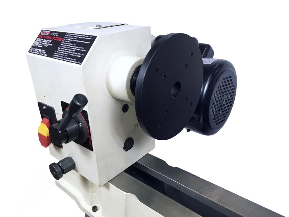ピーウッド 木工旋盤 PWL-1100VD ロングワーススタイルチャックセット