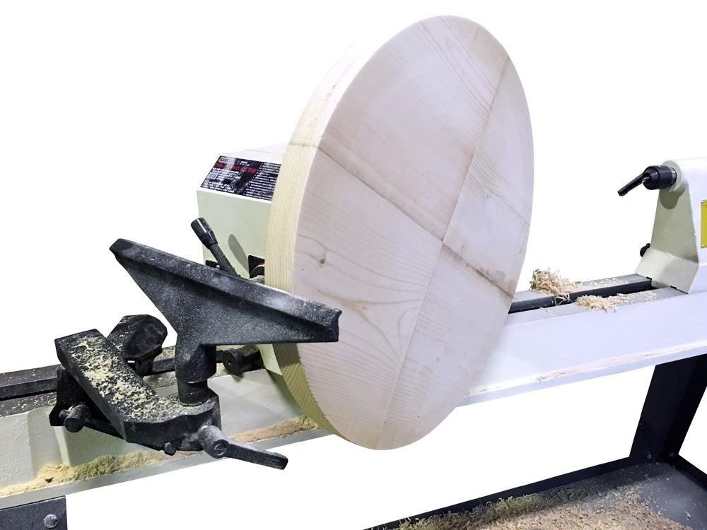 ピーウッド 木工旋盤 PWL-1100VDI(インバータ無段変速)
