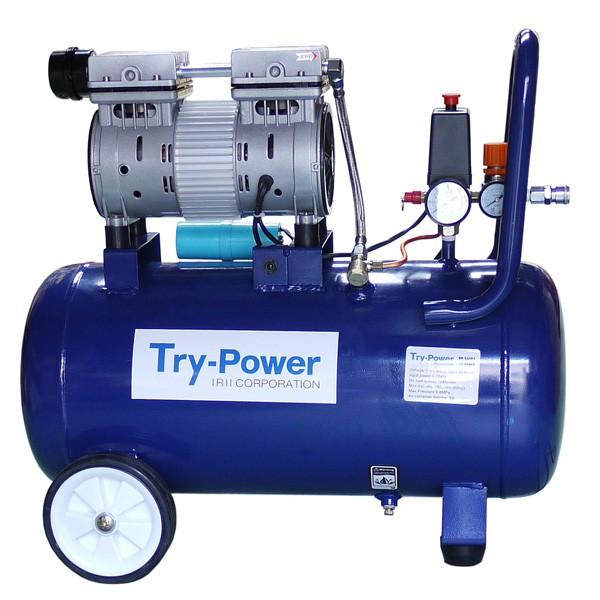 トライパワー TR-302EC 低騒音 エアーコンプレッサ 1馬力