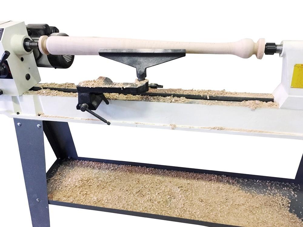 ピーウッド 木工旋盤 PWL-1100VD ロングツールレストセット