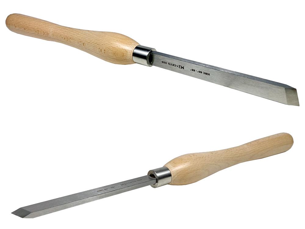 ピーウッド 木工旋盤用バイト スタンダードスキューチゼル 18mm