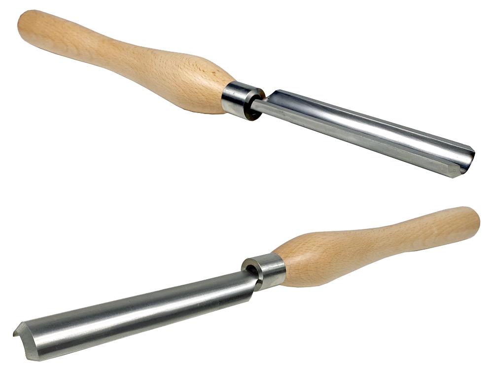 ピーウッド 木工旋盤用バイト スピンドルラフィングガウジ 28mm