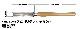 ピーウッド 木工旋盤用バイト スピンドルラフィングガウジ 40mm