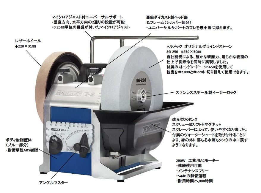 トルメック 水冷式研磨機 T-8 オリジナル