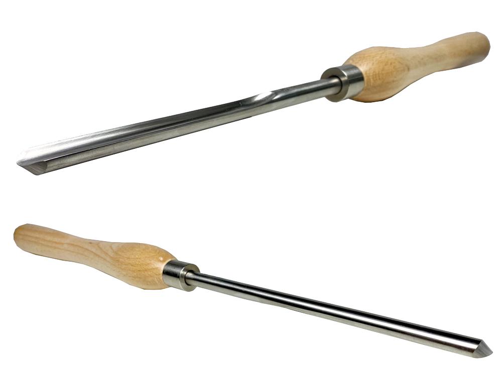 ピーウッド 木工旋盤用バイト スピンドルガウジ 12mm