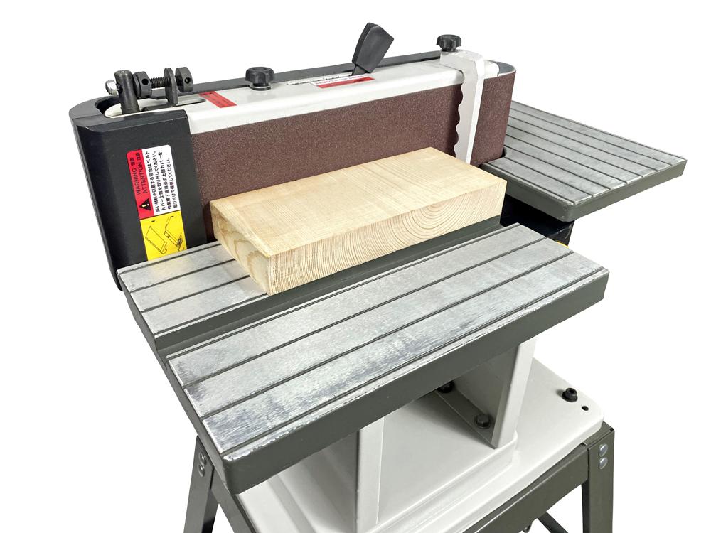 ピーウッド 横型ベルトサンダー+木工用集塵機セット
