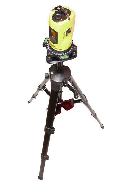 トライパワー レーザー墨出機(水平・垂直、エレベータ三脚付)