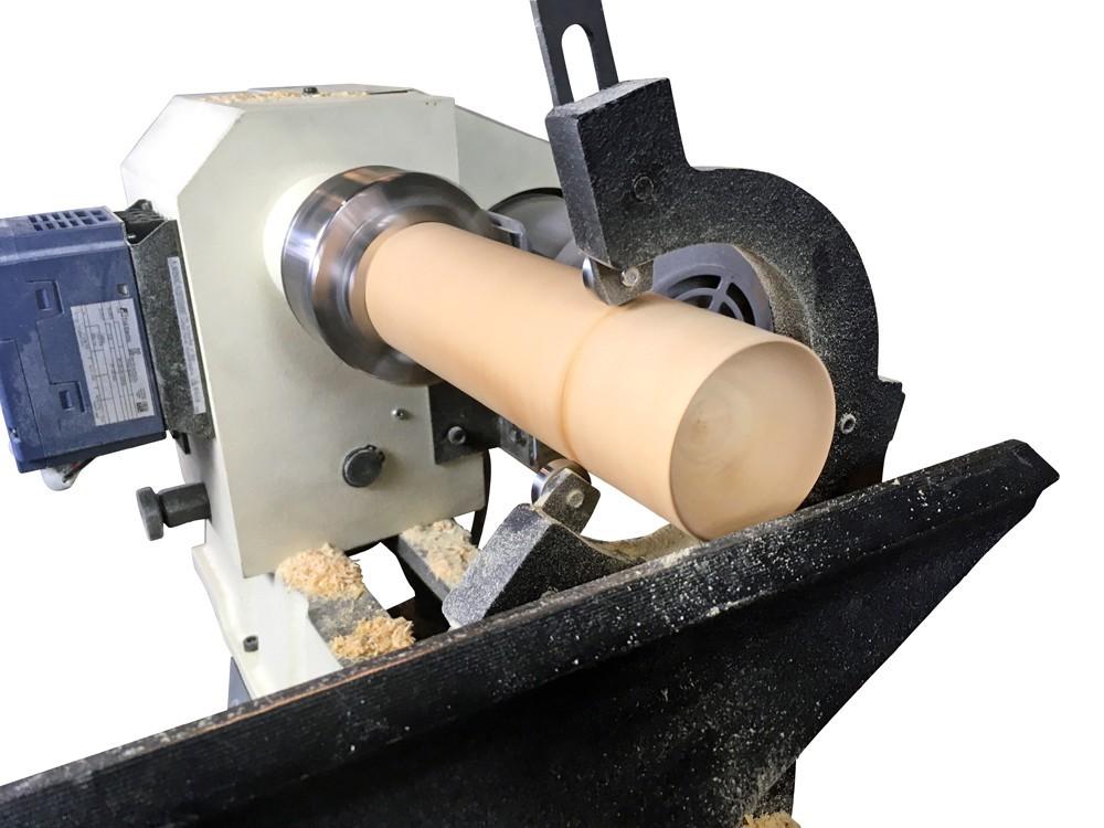 ピーウッド 木工旋盤用振れ止め+ドリルチャックセット(PWL-1100VD用)