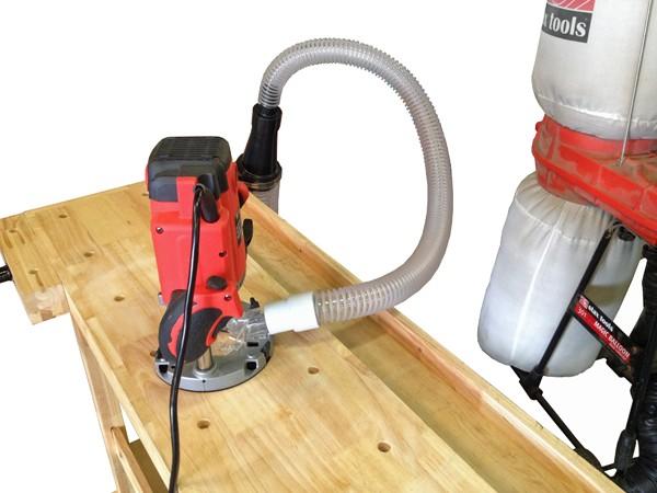STaXTOOL 木工用集塵機+100-38mmアダプターセット