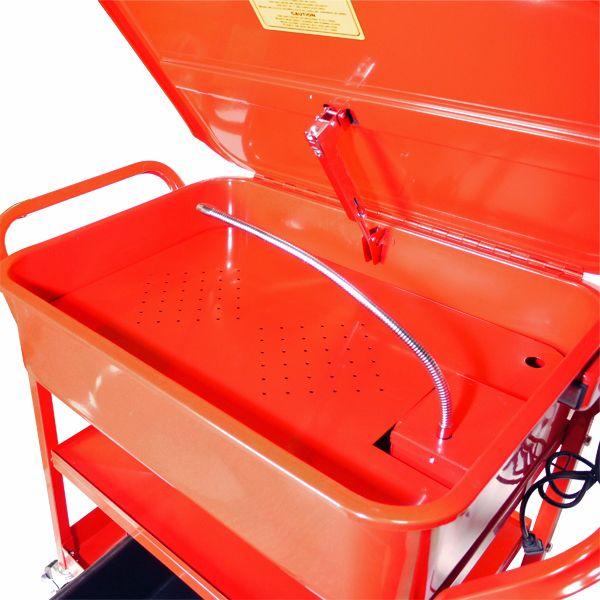 トライパワー 移動式パーツ洗浄台(68Lシンク) TR-232PK