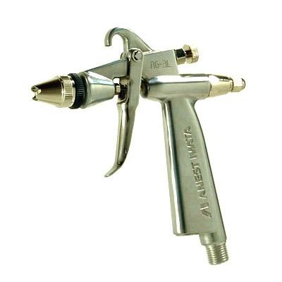 アネスト岩田 丸吹きスプレーガン RG-3L1-1 (ノズル口径0.4mm、空気量調節装置付)