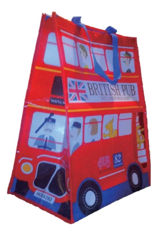 HUBロンドンバスバッグ