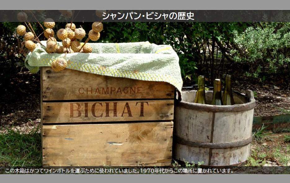 常温)シャンパーニュ[BICHAT]ブリュット750mlボトル【GIFTラッピング有料オプション有】