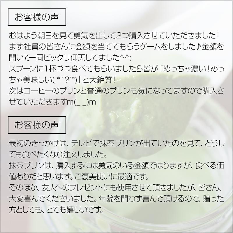 【お中元添え状付き】最高級抹茶プリン『おこい』6個入り【送料無料】