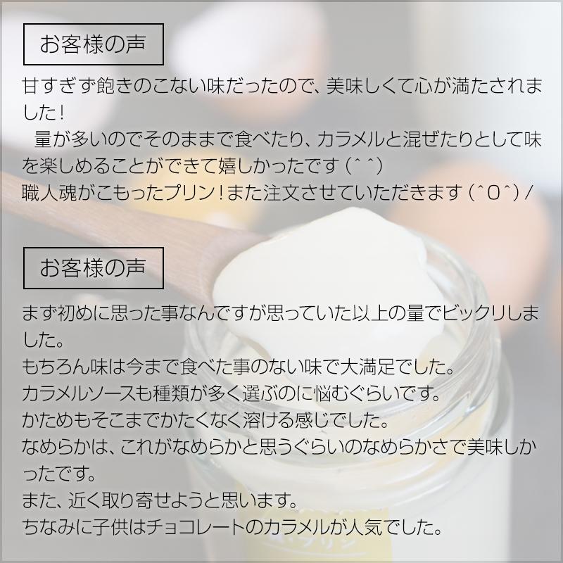 【大寒たまご使用】真・プリン『かため』・『生粋〜KISUI〜』食べ比べセット4個入り